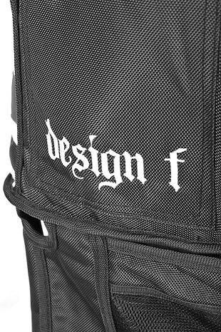 側面にはデザインFのロゴ